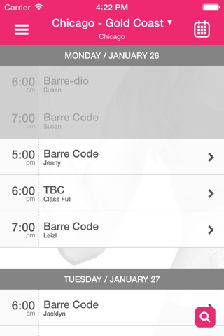 The Barre Code screenshot 3