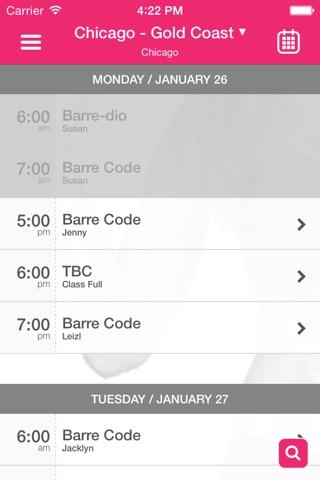 The Barre Code screenshot 3