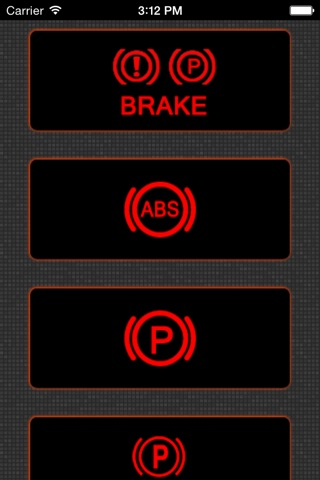 App for Mazda with Mazda Warning Lights and Road Assistance screenshot 3