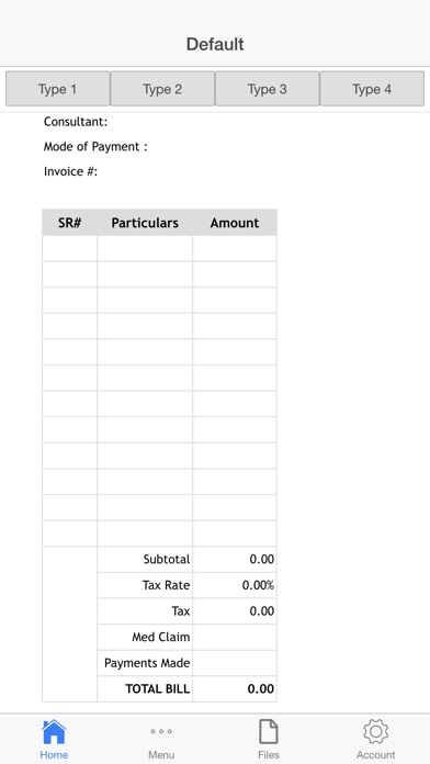 Medical Invoice On The App Store