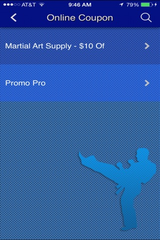 Martial Arts App screenshot 3