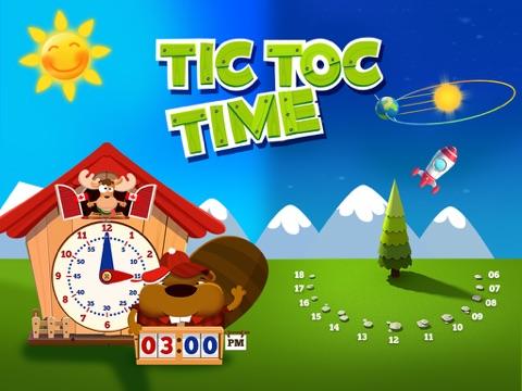 Tick Tack Zeit: Lerne die Tages-und Uhrzeiten Screenshot