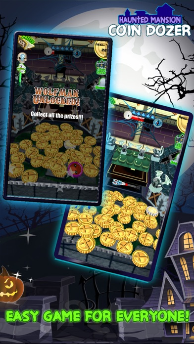download Coin Dozer Haunted Mansion : Halloween Creature Edition apps 1