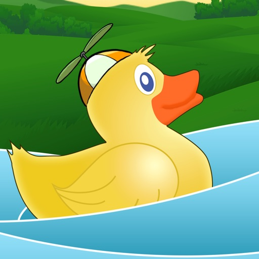 Turbo Duck Water Racer Pro - New speed water racing game iOS App