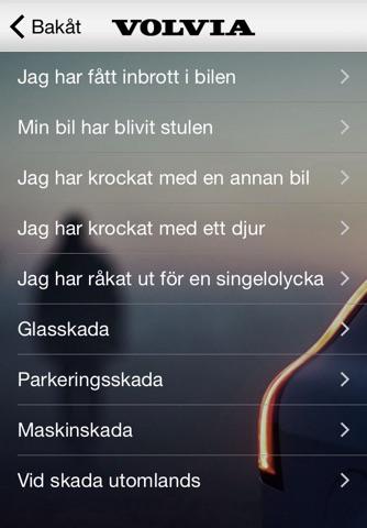 Volvia försäkring för Volvo screenshot 2