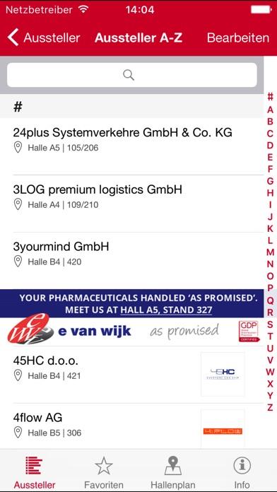 Screenshot von transport logistic3
