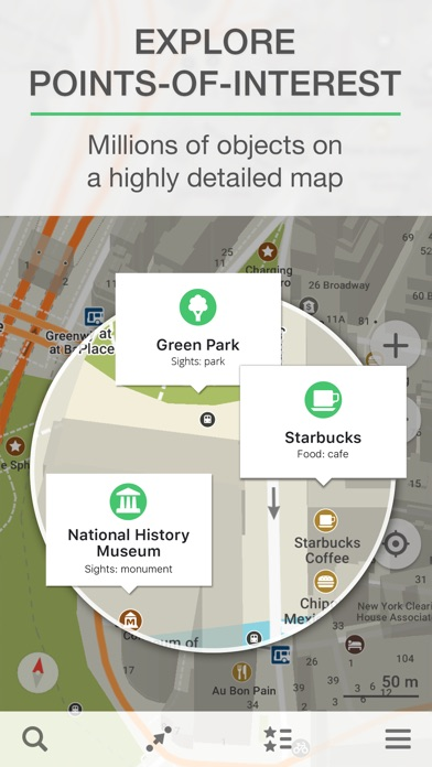 MAPSME Offline Map Nav On The App Store - Us map iphone developer