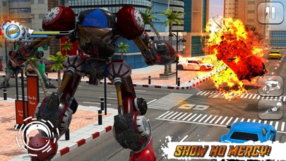 Moto Robot Transformation Simulator screenshot 5