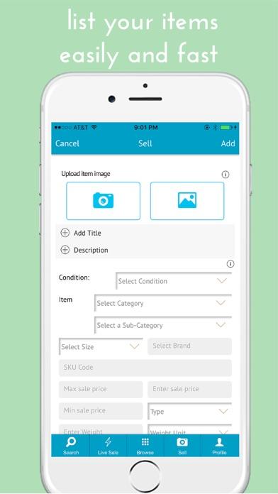 IBuySell - Achats en ligne. Acheter et vendreCapture d'écran de 5