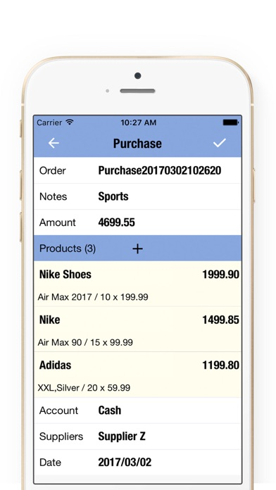 Daily Sales Tracker 3 + Inventory Tracker & Manage on the App Store