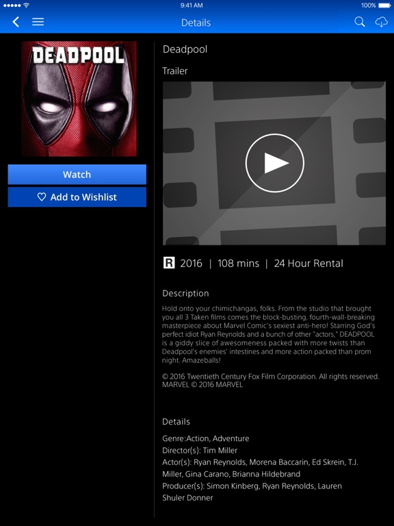 Get a free rentalown a movie with vudu of the psn
