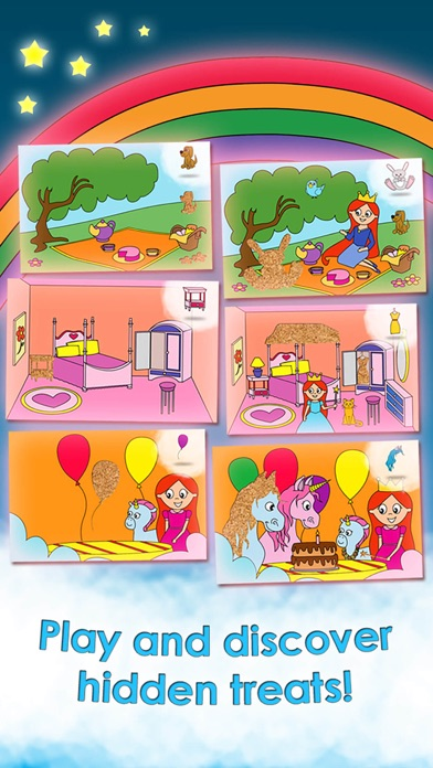 Screenshot #7 for Princess Games for Girls Games Unicorn Kids Puzzle