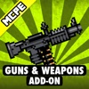 GUNS & WEAPONS ADD-ON FOR MINECRAFT MCPE (PE)