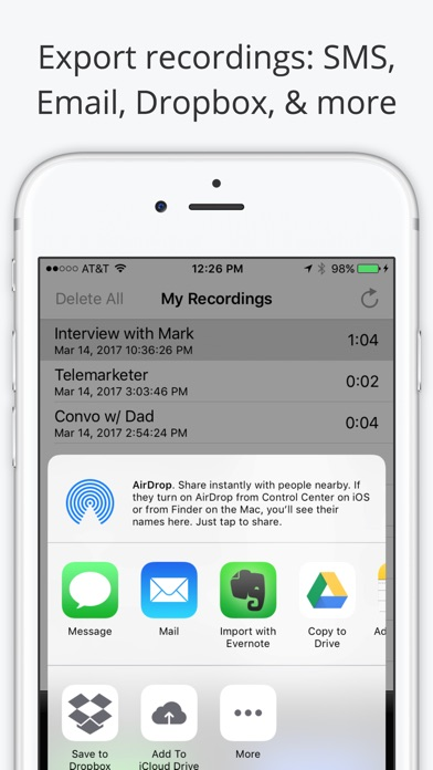 Call Recorder Lite - Record Phone Calls for iPhone - AppAddict