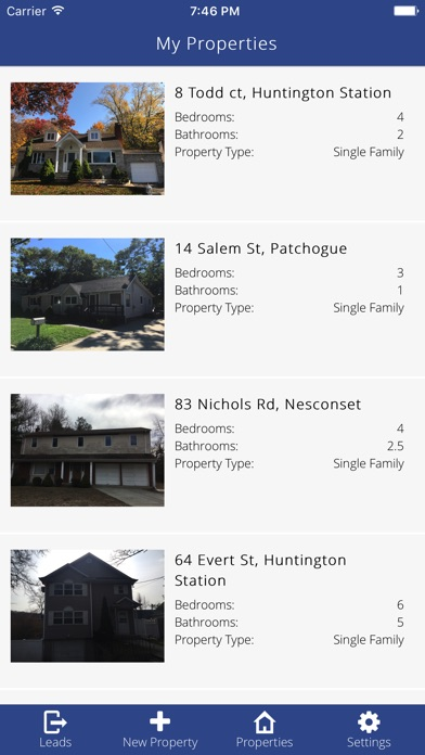 Screenshot of AM Open House - The Best App for Open Houses2