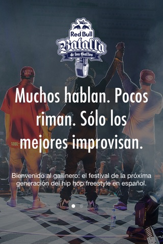 Red Bull Batalla de los Gallos screenshot 1