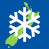 New Zealand Snow Map