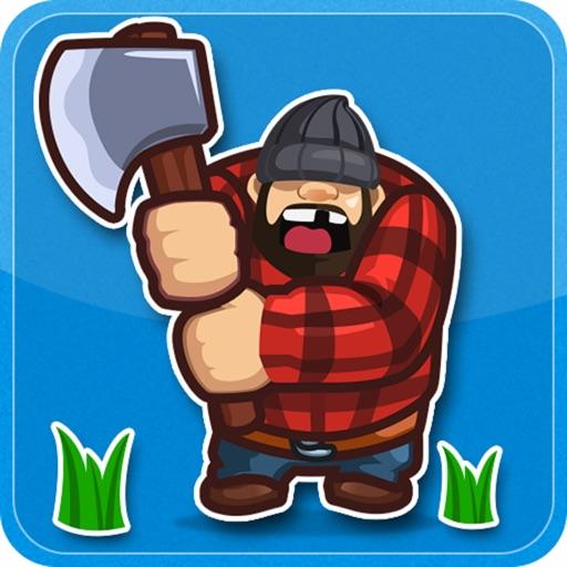 Lumber Jack Tree Chop iOS App