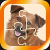 Jigsaw puzzle - cute dogs