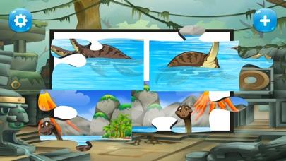 子供のためのゲームを学ぶ恐竜のジグソーパズル 幼児向け無料ゲームのスクリーンショット5