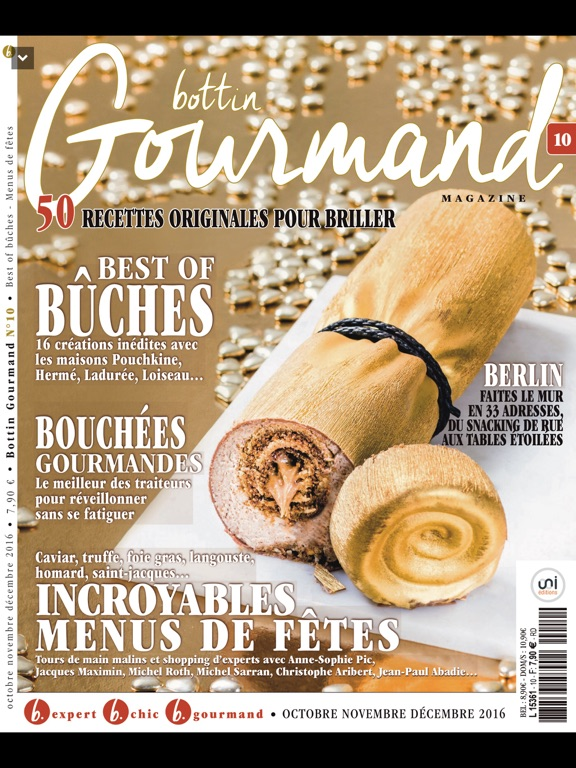 bottin gourmand magazine par uni editions. Black Bedroom Furniture Sets. Home Design Ideas