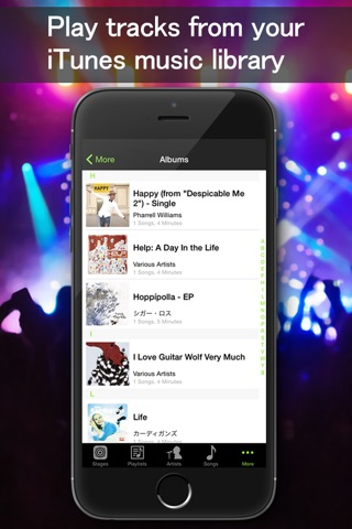 Music Live - Music player&Live concert simulator screenshot 3