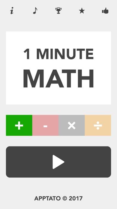 Image result for 1 minute maths app