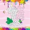 Fruit Coloring Game of World fruit