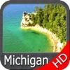 Michigan & Superior Lakes HD GPS Map Navigator