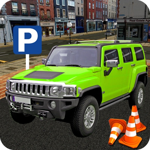 Real Smart Car Parking: Training Game iOS App