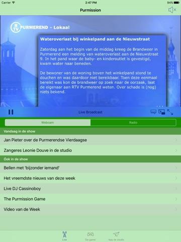 Purmission - RTV Purmerend screenshot 3