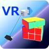 Speed Cube VR virtual screen