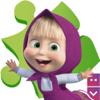 Puzzles con Masha y el Oso: juegos de niñas gratis