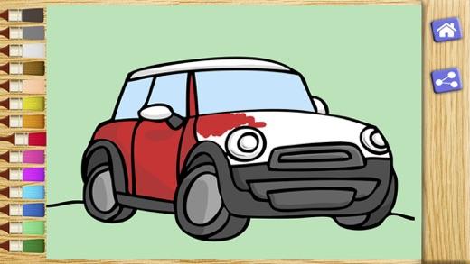 Colorear coches  Juegos de pintar autos y carros en App Store
