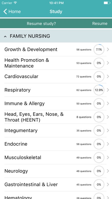 Family nurse practitioner exam prep on the app store iphone screenshot 1 malvernweather Image collections