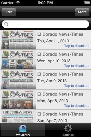 El Dorado News-Τimes screenshot 1