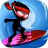 Stickman Surfers : Survival South Island