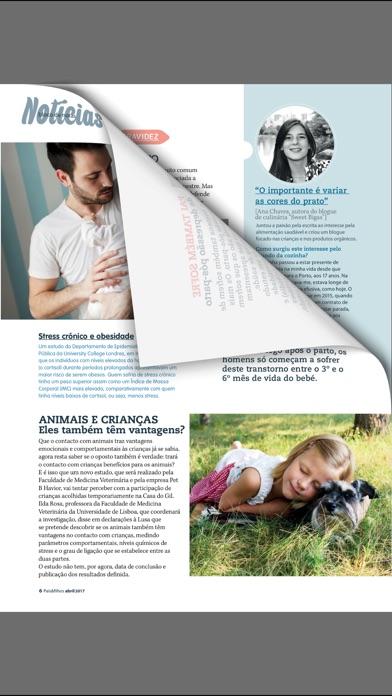 Revista Paisfilhos review screenshots