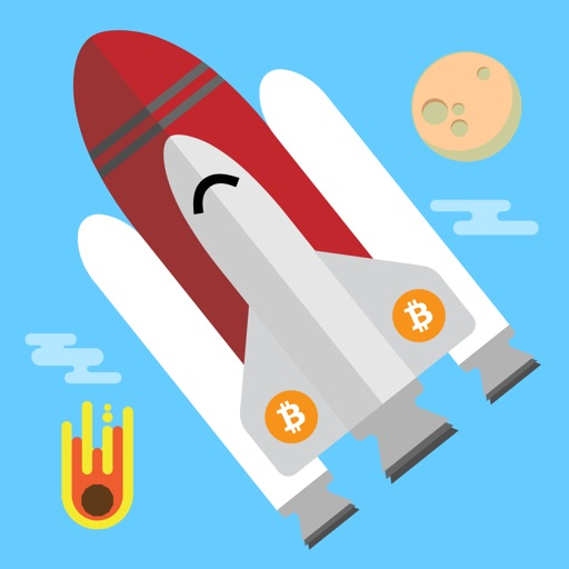 Bitcoin To The Moon! - The Game iOS App