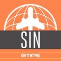 Singapura Guia de Viagem com Mapa Offline & Metro icon