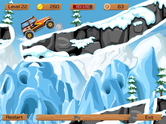 Snow Off Road -- Mountain Mud/Dirt Driving Game Screenshots