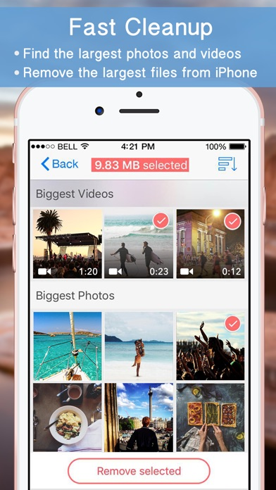 how to clear up storage on iphone