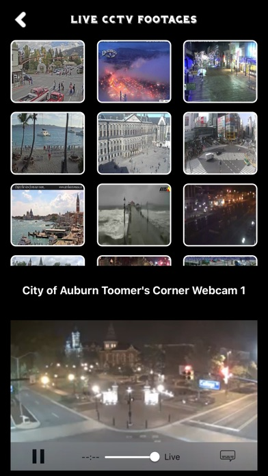 LIVE CCTV Camera Footage - Public Footages Screenshot