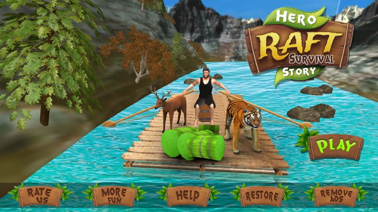 Raft Survival Ocean Superhero Escape Story by Arshia Asif