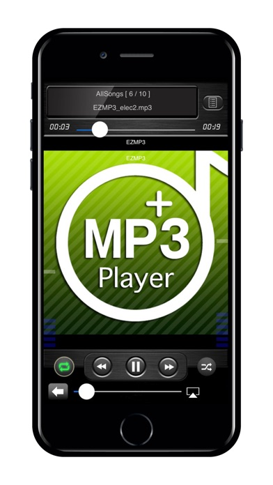 EZMP3 Player Pro Screenshots