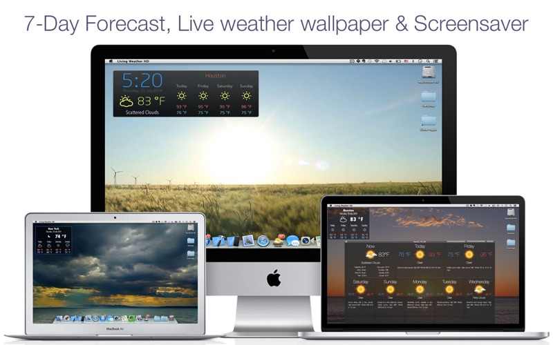 Living Weather & Wallpaper Pro Screenshots