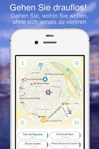 Valencia on Foot : Offline Map screenshot 1