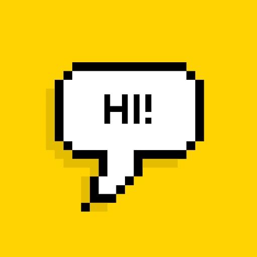 Bubble - Add pixel speech bubbles to your photos