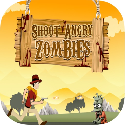 Shoot Angry Zombies iOS App