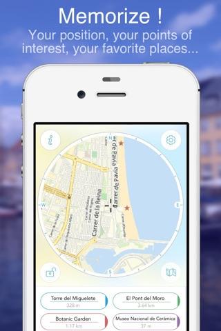 Valencia on Foot : Offline Map screenshot 3